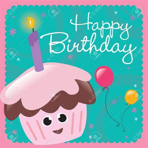 happy birthday cards clipart   cliparts