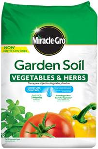 Potting Mix Vs Garden Soil by Miracle Gro Garden Soil For Vegetables And Herbs Soils