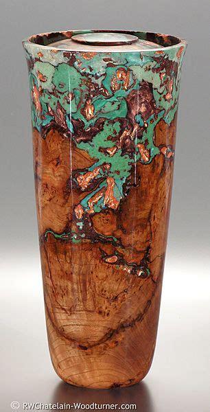 robert  chatelain artist memorial urn black cherry