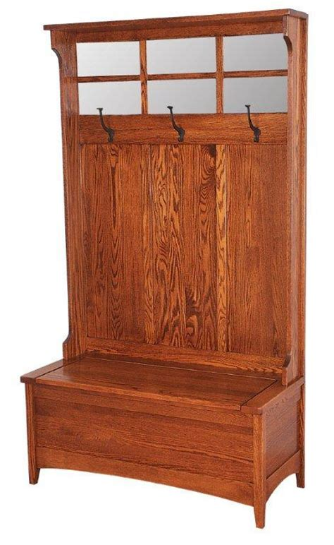 Mud Room Cabinets by Amish Hall Shaker Bench With Storage