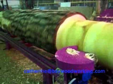 log lathe log cylindrical turning machine youtube