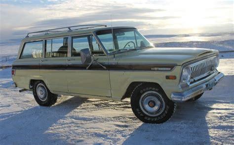 1970 jeep grand wagoneer 1970 jeep wagoneer 4 4 bring a trailer