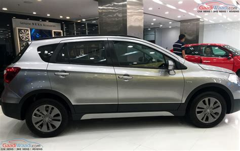 Baleno New Modified White Colours by Exclusive Maruti Baleno And S Cross Get Grey Alloy Wheels