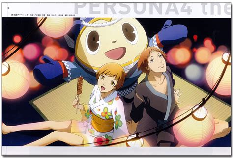 Persona 4 the Golden Animation Official Illustrations ...