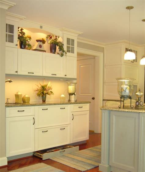 white kitchen cabinets drawer in base accent