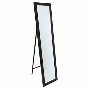 Miroir Sur Pied : miroir sur pied class noir veo shop ~ Teatrodelosmanantiales.com Idées de Décoration