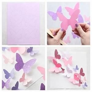 Schmetterlinge Aus Tonpapier Basteln : 1001 tolle ideen wie sie schmetterling basteln ~ Orissabook.com Haus und Dekorationen