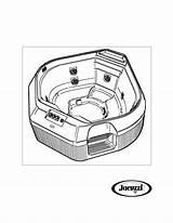 Tub Drawing Whirlpool Getdrawings sketch template