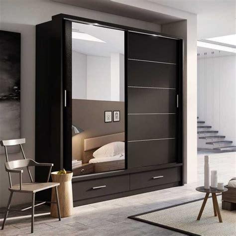 wood sliding closet doors wardrobe design tolles designs with mirror for bedroom