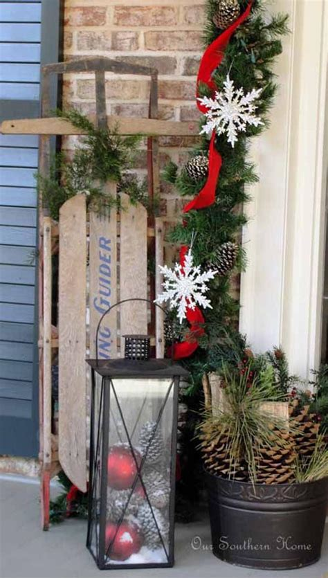 cool christmas porch decorating ideas   christmas