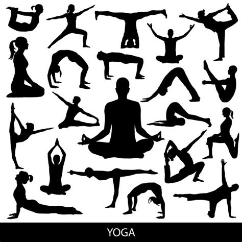 Caluya design's svg cut file & font downloads are 100% free for personal use. Yoga silhouette 03 vector Free Vector / 4Vector