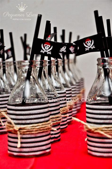 Kara's Party Ideas Pirate Black Red Ahoy Ship Boy Birthday