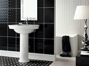 Mettre Twitter En Noir : salle de bain noir et blanc une pi ce l gante et moderne ~ Medecine-chirurgie-esthetiques.com Avis de Voitures