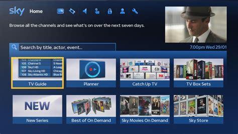 sky tv coming   built homes  fibre optic cable