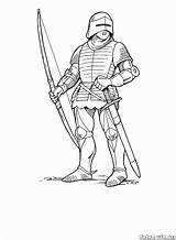 Archer Coloring 1431 23kb sketch template