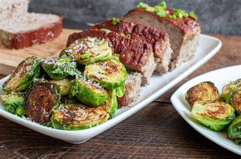 Best roasted prime rib recipe. Keto Italian Meatloaf w/ Balsamic Ketchup and Pan Fried Brussel Sprouts - Culinary Lion ...