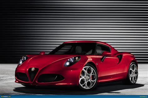 Ausmotivecom Alfa Romeo 4c To Weigh Less Than 960kg