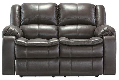 gray reclining sofa and loveseat long knight gray reclining loveseat from ashley 8890686