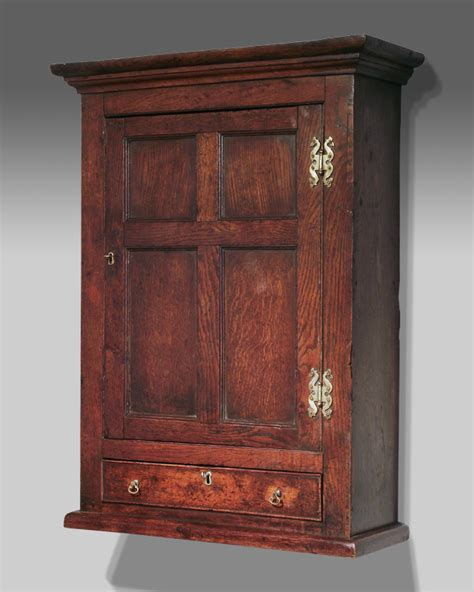 Hanging Wall Cupboards by Antique Oak Wall Hanging Cupboard Oak Spice Cupboard Oak