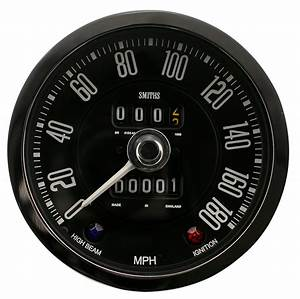 Image Of Aston Martin Db4gt Speedometer