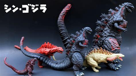 Evolution Of Godzilla Vs Shin Godzilla