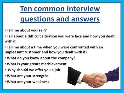 10 of the most common interview questions asie personnel
