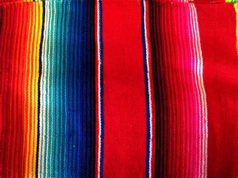 Dark Blue Rug by Hammock Heaven Red Mexican Blankets Large