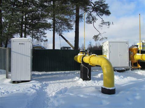 Kingisepa pilsētas gāzes patēriņa ierobežošanas mezgls