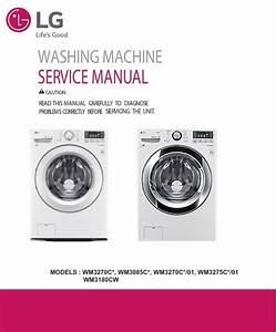 Lg Wm3180cw Wm3085c Wm3085cw Wm3275c Wm3275cw Washer S