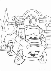 Mater - Cars coloring page | Cars Party Ideas | Pinterest