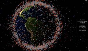 See All The Satellites And Space Junk Circling Earth In ...
