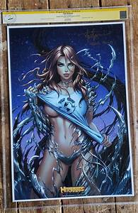 Witchblade San Diego comic con exclusive lithograph CGC ...