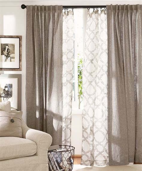 sheer curtains for living room modern style home design