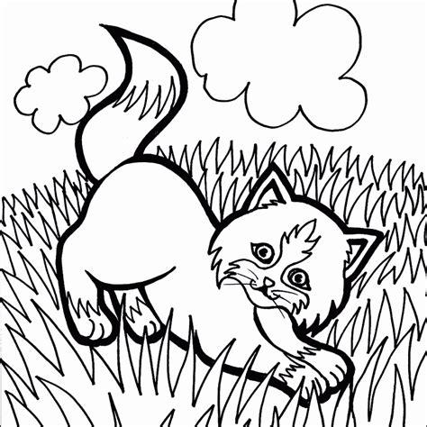 dibujos de gatos  imprimir  colorear colorear