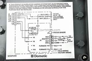 Dometic Duo Therm Thermostat Wiring Diagram
