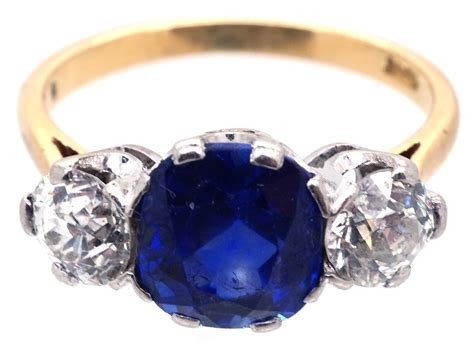 3 Carat Sapphire & Diamond Three Stone Ring  The Antique. Valuable Watches. 1ct Diamond Necklace. Talking Watches. Sets Gold Jewellery. Jewelry Manufacturers. Burgundy Necklace. Cheap Jewelry Online. Crossbar Necklace