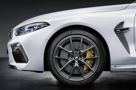 Bmw M8 M Performance Parts by M Performance Upgrades Offered For Bmw M8 Car And