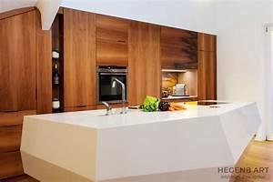 cuisine avec ilot central hegenbart With meuble de salle a manger avec lit a eau