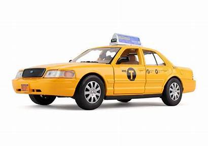 Taxi Ford Nyc Crown Yellow Cab York
