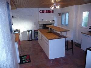 Cuisine Metro Brico Depot : cuisine photo 1 4 meubles brico d p t ainsi que le carrelage ~ Melissatoandfro.com Idées de Décoration