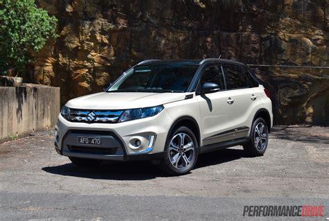 Suzuki Vitara by 2016 Suzuki Vitara Rt X Review Performancedrive