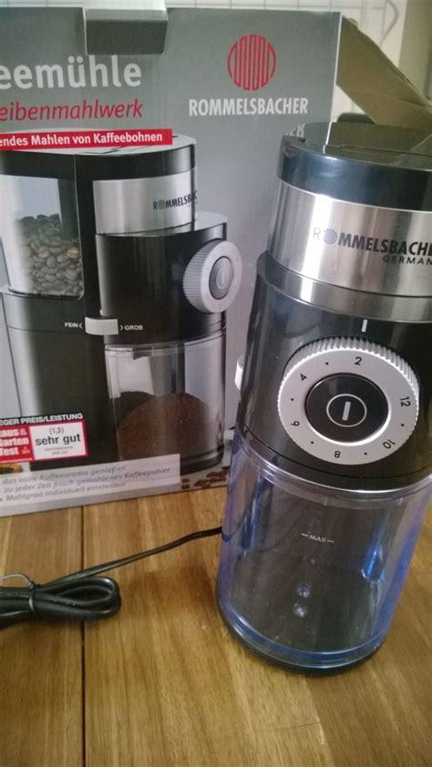 espresso kaffeem hle im test rommelsbacher ekm 200 kaffeem 252 hle mit