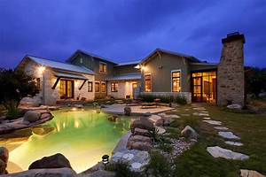 Hill Country Arts And Crafts - Eclectic - Pool
