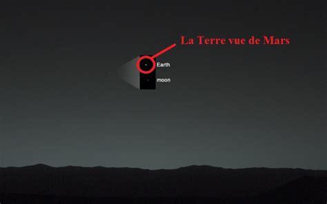 La Terre Vue De La Lune Nasa by A Quoi Ressemble La Terre Vue De Mars Pause Geek La