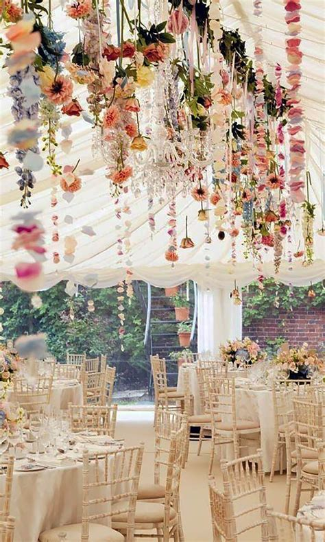 21 chic wedding flower decor ideas reception table