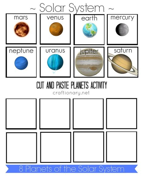 solar system cutouts printable page 2 pics about space