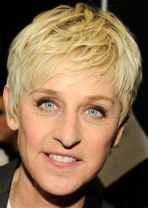 Ellen DeGeneres Layered Razor Cut   Layered Razor Cut