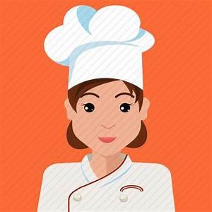 Avatar Chef Cook Profile User Woman Icon