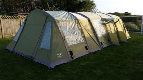 Vango Airbeam Evoque 600 Plus Carpet, Footprint And Spare