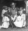 Buffalo Bill Cody with Children, ca. 1895   All sought of ...